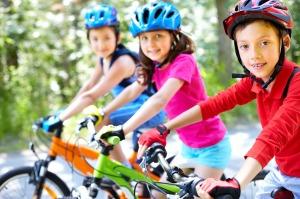 Enfants vélo